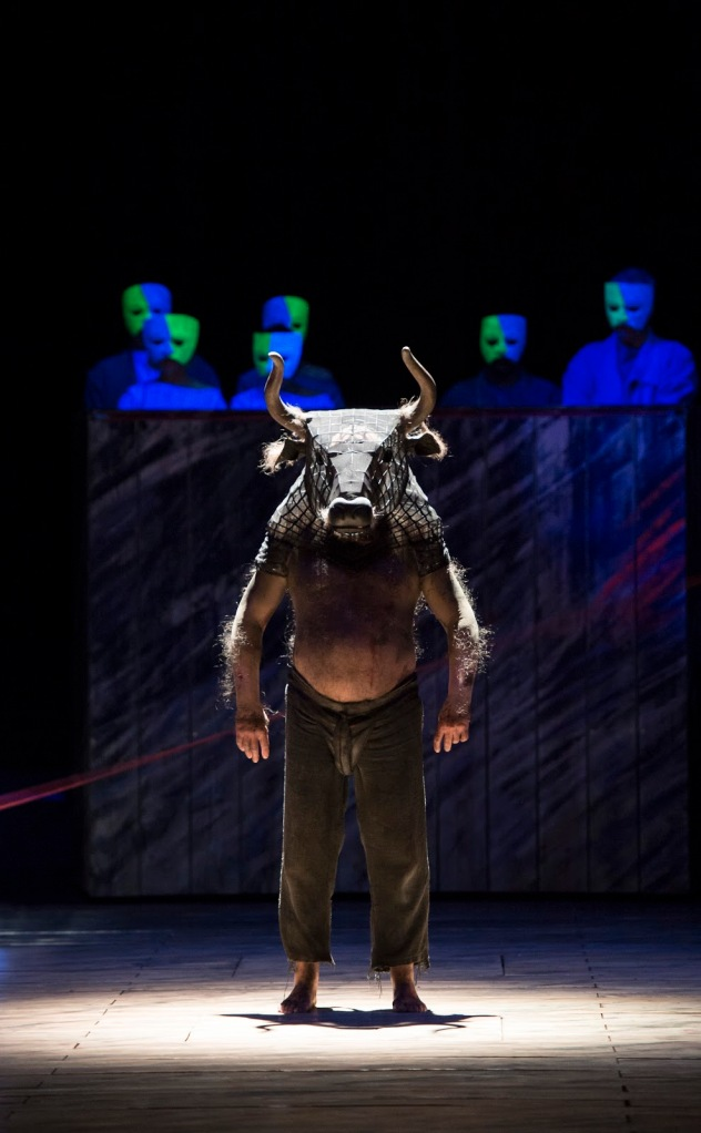 John Tomlinson as the Minotaur