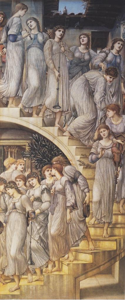 The Golden Stairs - Sir Edward Burne-Jones, 1880