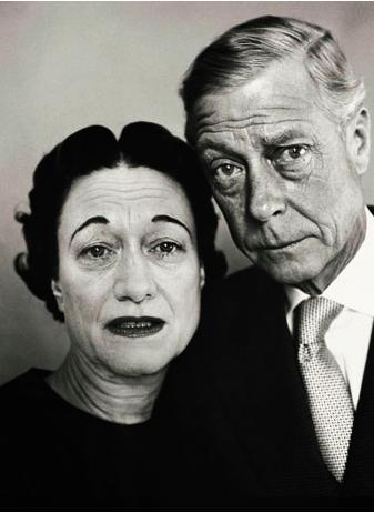 Wallis Simpson and Edward, Duke of Windsor, by Richard Avedon