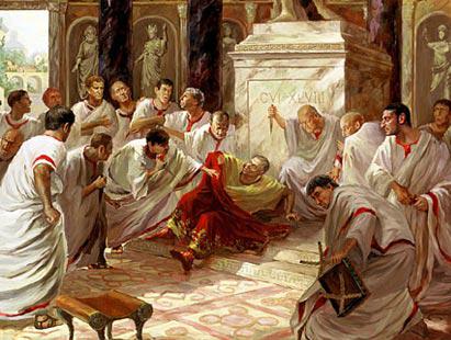Caesar stabbed