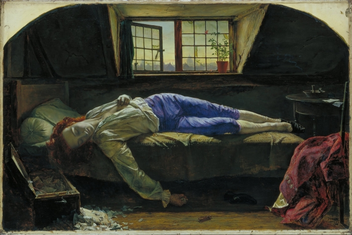 Henry Wallis -  The Death of Chatterton  - Google Art Project