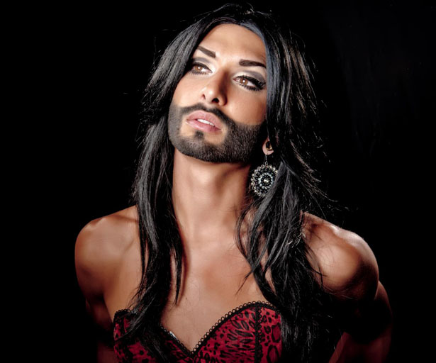 Conchita Wurst in her full and irresistible glory