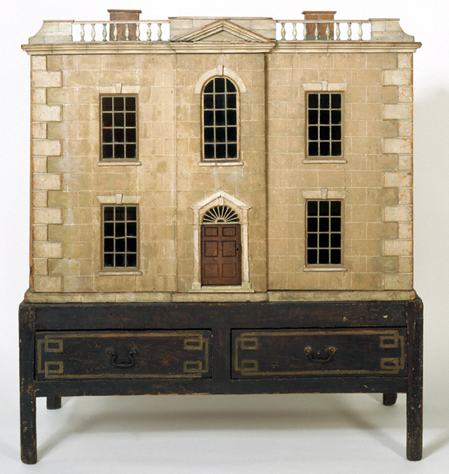 1783 Dollshouse restored by Denton Welch, now in the Museum of Childhood,  section of the V&A, London