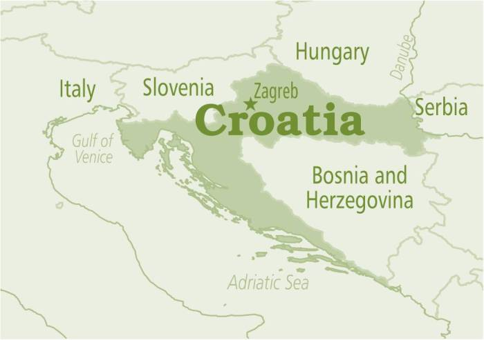 Croatia green