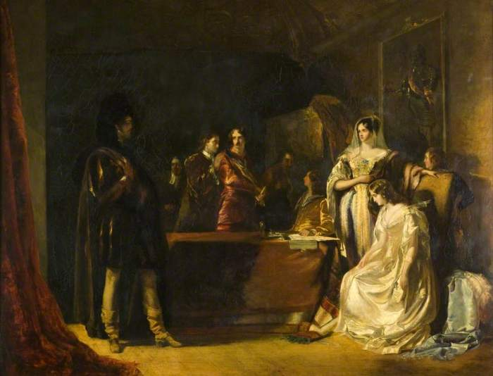 The Bride of Lamermoor, Robert Scott Lauder, 1831; (c) Dundee Art Galleries and Museums Collection (Dundee City Council); Supplied by The Public Catalogue Foundation