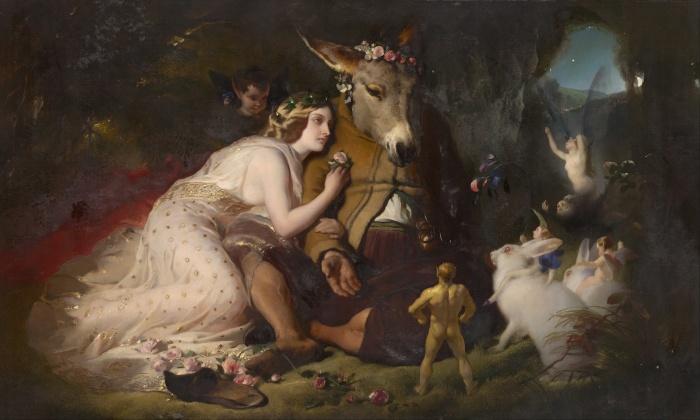 Edwin Landseer - Scene from a Midsummer Night's Dream