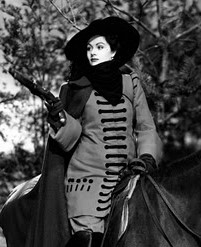 Margaret Lockwood in The Wicked Lady, 1945, a film based on the life of Lady Katherine Ferrers