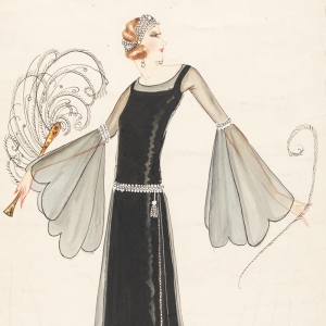 Fashion design by Norman Hartnell