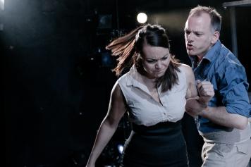Lilly Papaioannou (Carmen), Michael Bracegirdle (Jose). Photo: Andreas Grieger