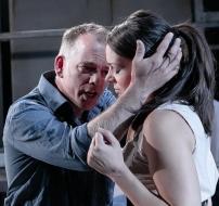 Michael Bracegirdle (Jose), Lilly Papaioannou (Carmen). Photo: Andreas Grieger