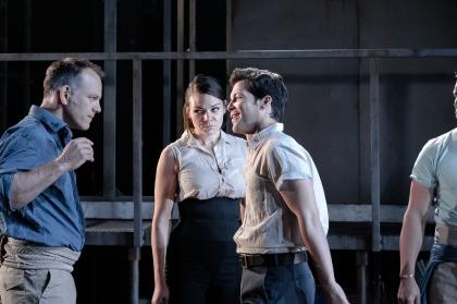 Michael Bracegirdle (Jose), Lilly Papaioannou (Carmen), Marc Callahan (Escamillo). Photo: Andreas Grieger