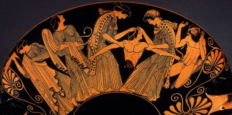 The Bacchae dismember Pentheus