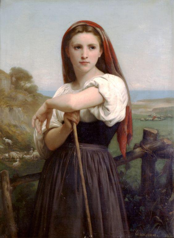 Bougereau Young Shepherdess
