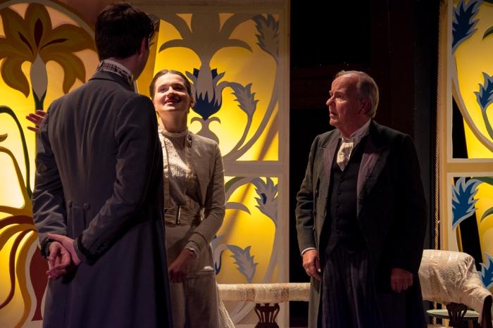 An Ideal Husband Goring, Mabel and Caversham